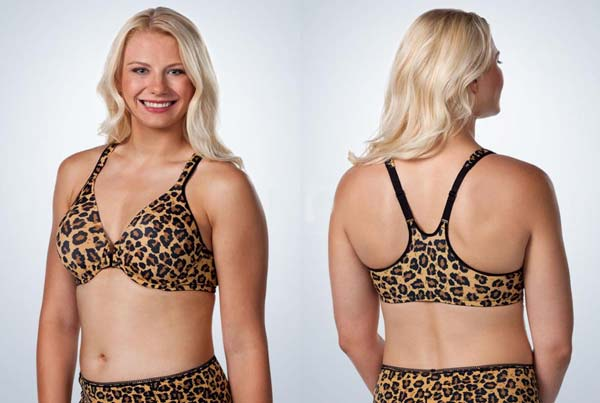 LL Front Closure Racer Back Underwire Bra