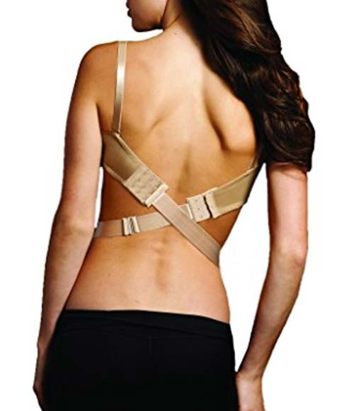 maidenform low back dress converter back