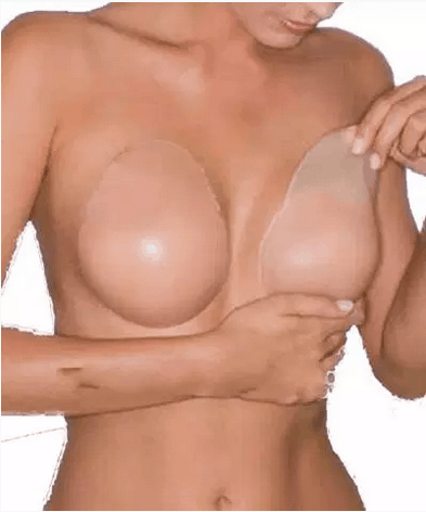 Adhesive bra cups