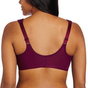 glamorise plus size elegance front opening bras back