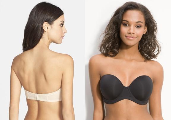 wacoal strapless bra