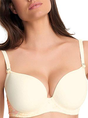 A Convertible Bra that has Molded Cups
