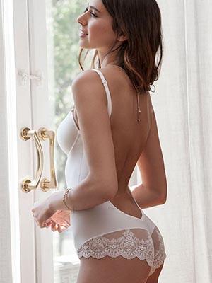 Backless Bridal Body (Ivory)