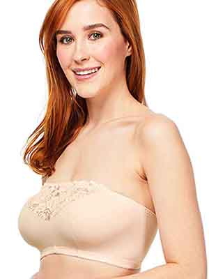 Carole Martin Strapless Comfort Wireless Bra