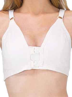 Cottonique Front Closure Cotton Bra