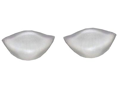 Gorgeouslicious, Women's Silicone Oval Pads