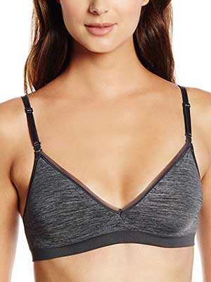 Hanes Women's Convertible Seamless Wire-Free Bra