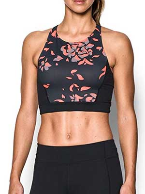 Under Armour Luminous Crop Top Bra