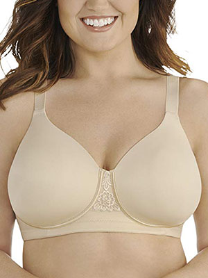 Vanity Fair Women's Beauty Back Full-Figure Wire-Free Bra