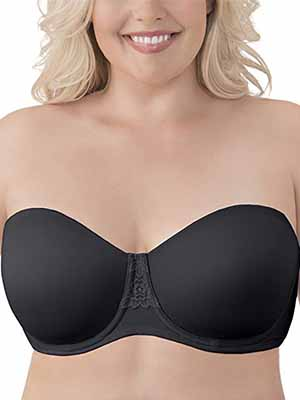 Vanity Fair Women's Beauty Back Strapless Bra