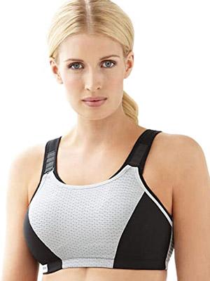 Glamorise Women's Full Figure Adjustable Sports Bra