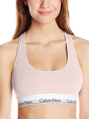 Calvin Klein Modern Collection Cotton Bralette