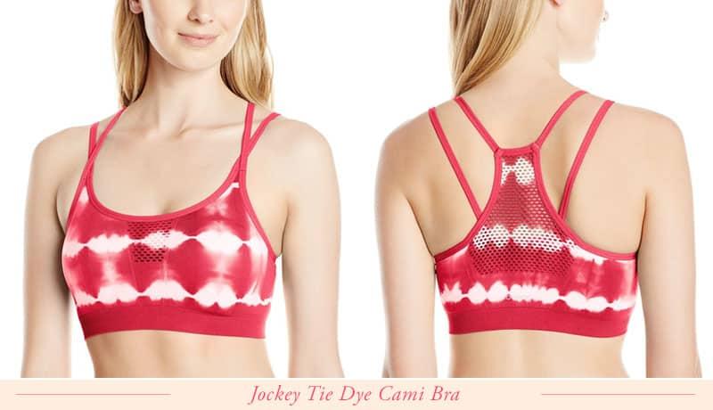 Jockey Tie Dye Cami Sports Bra