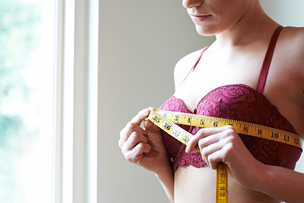 Measure breast