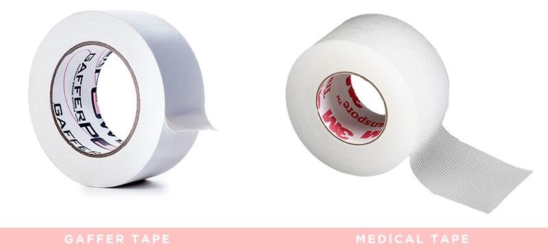 gaffer tape medical tape