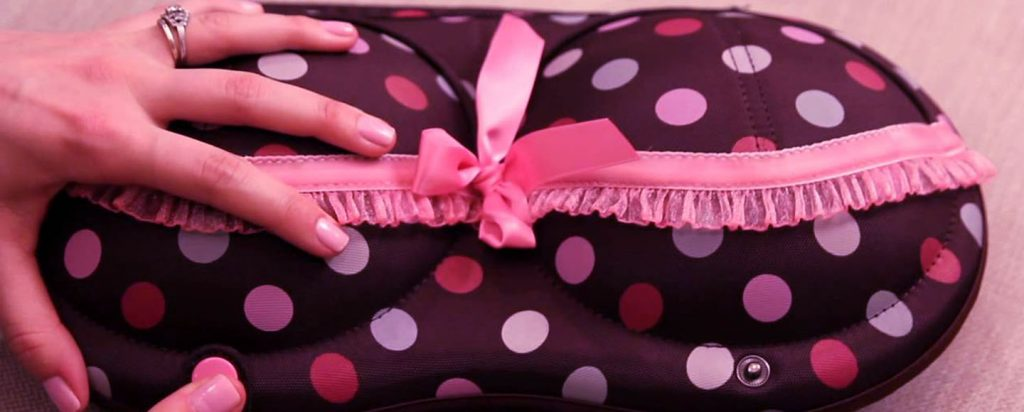 how to pack bras for travel