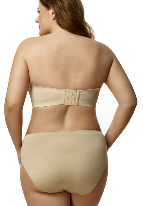 Elila molded strapless