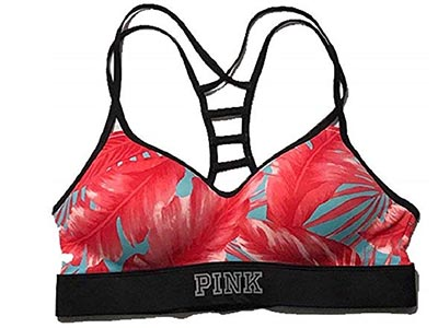 Victoria Secret's Pink Ultimate Ladder Back Push-Up Sports Bra – Best Bra for Amping The Curves