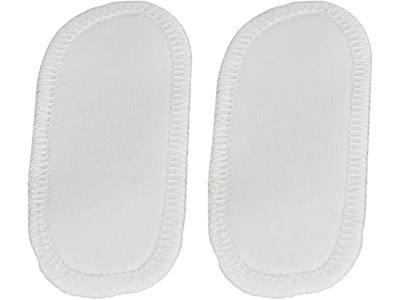 Home-X Set of 2 Reusable Bra Strap Pads, Silicone Free Bra Shoulder Cushion