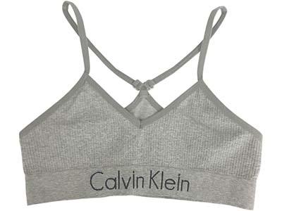 Calvin Klein Seamless Ribbed Racerback Bralette