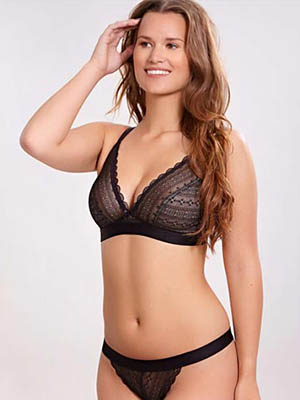 Cleo By Panache's Lyzy Triangle (For Projected Breasts)