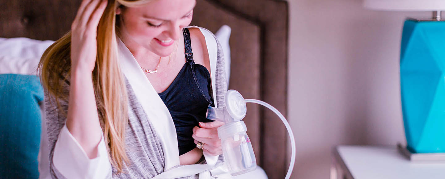 Here are 10 Comfortable & Supportive Bras Compatible With Spectra Breast Pumps