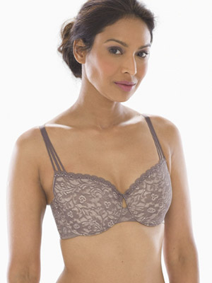Soma Enticing Lift Strappy Unlined Balconette Bra