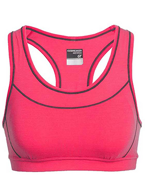 Merino Wool Moisture Wicking Bra