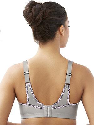 Glamorise Women's No-Bounce Full-support Sports Bra