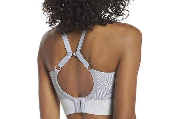 clasp design sports bra