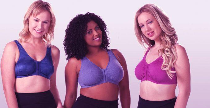 front closure sports bra plus size