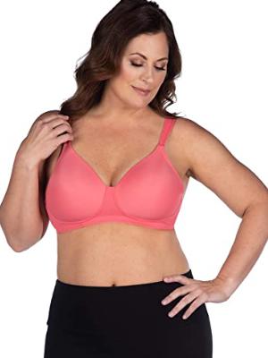 Leading Lady Women's Plus Size Wire Free T-shirt Bra