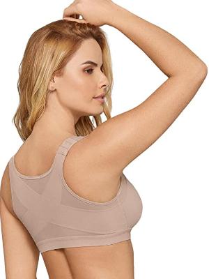Leonisa Back Support Posture Corrector Wire Free Bra