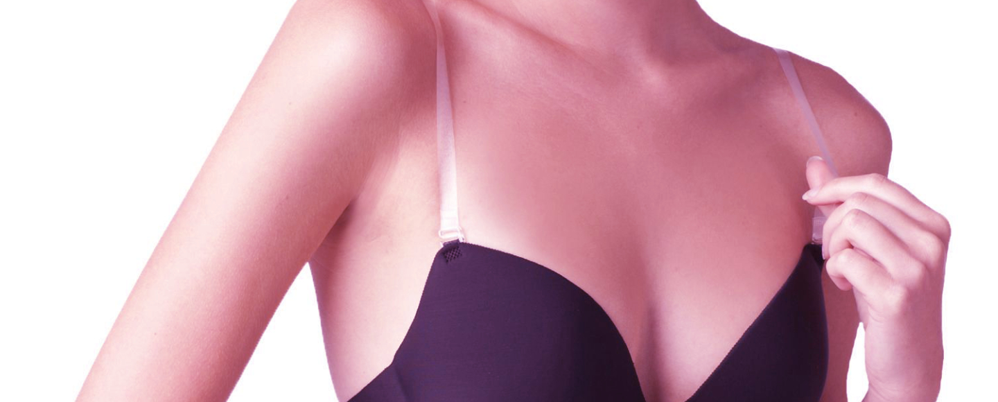 full coverage bra with clear straps
